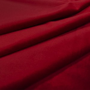 Tecido Veludo UltraConfort Liso Vermelho