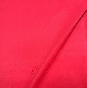 Tecido Veludo Vermelho Ferrari Liso