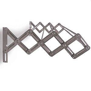 Varal de Alumínio Sanfonado 80 cm