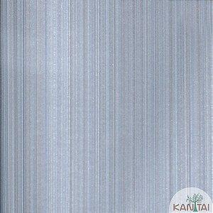 Papel de Parede Grace Listras Azul e Cinza - 3G202505R