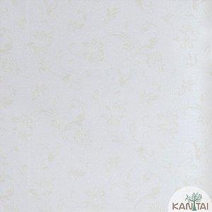 Papel de Parede Grace Ramos Dourado E Fundo Branco - 3G202701R