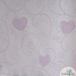 Papel de Parede Grace Arabescos Love Rosa - 3G204301R