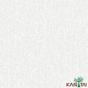 Papel de Parede Moda Em casa 2 Cimento Texturizado Chapiscado Branco - MD700401R