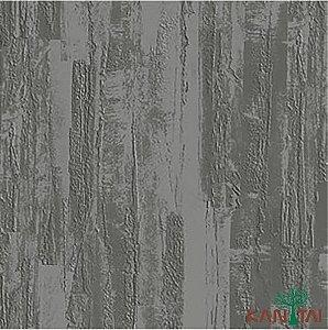 Papel de Parede Moda Em Casa 2 Cimento Texturizado Massa Corrida Grafite - MD700503R