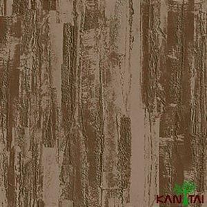 Papel de Parede Moda Em Casa 2 Cimento Texturizado Massa Corrida Marrom Claro - MD700507R