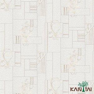 Papel de Parede Moda Em Casa 3 - Mosaico Creme - MD701301K