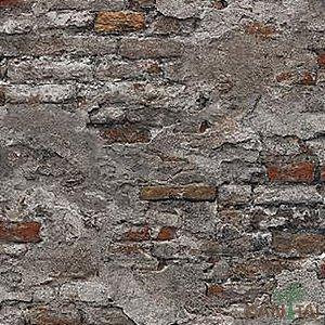 Papel de Parede Stone Age 2 - Muro Cinza Antigo - SN605001R