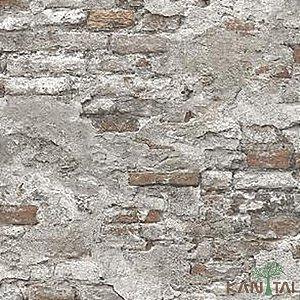 Papel de Parede Stone Age 2 - Muro Branco Antigo - SN605002R