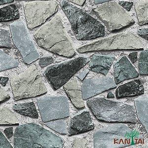 Papel de Parede Stone Age - Pedras Tonalidades Frias - SN601702R
