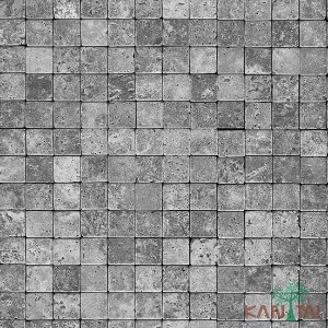 Papel de Parede Stone Age - Quadrados - Cinza - SN601902R