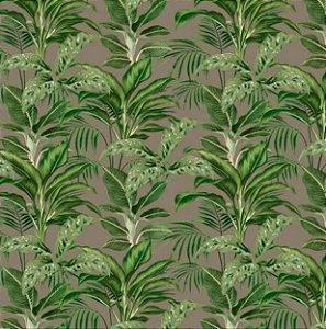 Tecido para Moveis Escallonia Fendi-Verde Folhas - Acquablock 44