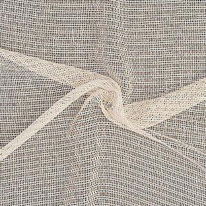 Tecido Para Cortina Voil Off White Largura 3,00m - Tricô 02