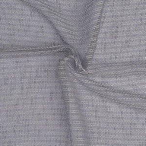 Tecido Para Cortina Voil Tricô Cinza Largura 3,00m - Tricô 04