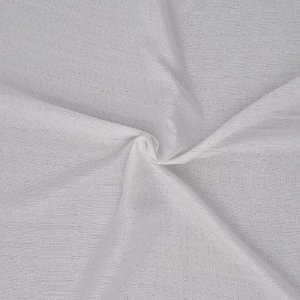 Tecido Para Cortina Voil Persa Branco - Largura 3,00m - Persa 01