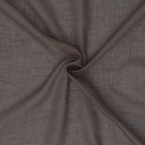 Tecido Para Cortina Voil Deluxe Cinza - Largura 3,00m - Deluxe 02