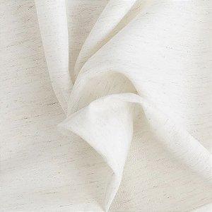 Tecido Para Cortina Voil Shantungl Cru - Largura 2,80m - Shantungl 01