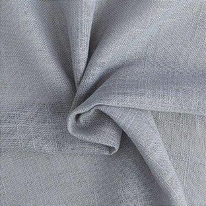 Tecido Para Cortina Voil Egito Cinza - Largura 2,80m - Egito 04