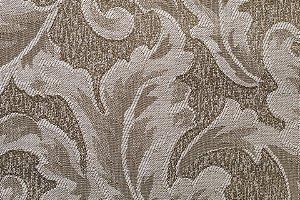 Tecido Jacquard Caqui Floral - PAN 111