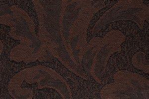 Tecido Jacquard Marrom Floral - PAN 135