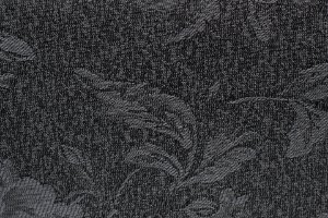 Tecido Jacquard Chumbo Flor - PAN 141