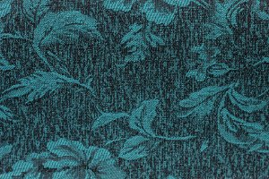 Tecido Jacquard Esmeralda Flor - PAN 145