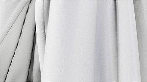 Tecido para Cortina American Poli Sarja Branco - Largura 2,80m - AME-01