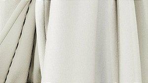 Tecido para Cortina American Poli Sarja Marfim - Largura 2,80m - AME-02