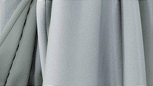 Tecido para Cortina American Poli Sarja Cinza - Largura 2,80m - AME-05