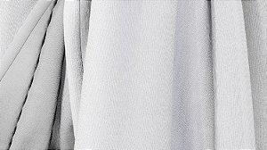 Tecido para Cortina American Gorgurinho Shantung Branco - Largura 2,90m - AME-12