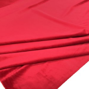 Tecido Veludo para Cortina 2,80 de largura - Vermelho - SIL07