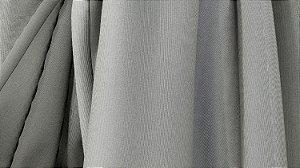 Tecido para Cortina American Gorgurinho Shantung Cinza - Largura 2,90m - AME-18