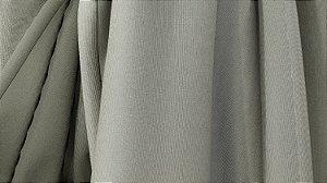 Tecido para Cortina American Gorgurinho Shantung Cinza - Largura 2,90m - AME-20
