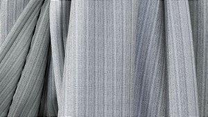 Tecido para Cortina American Madras Silver Cinza - Largura 2,90m - AME-43