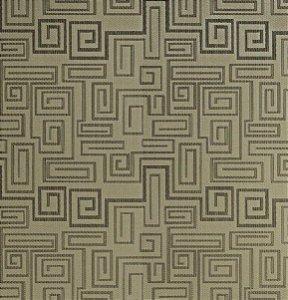 Tecido Jacquard Imperial Greece Cáqui Para Cortinas Com 2,90 de Largura - EUR22