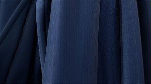 Tecido para Cortina American Madras Azul Marinho - Largura 2,90m - AME-55