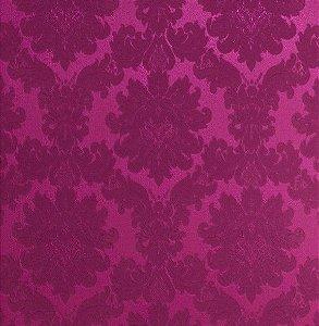 Tecido Jacquard Algodão Medalhão Pink Para Cortinas Com 2,80 de Largura - EUR49