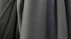 Tecido para Cortina American Florence Cinza - Largura 2,90m - AME-65