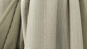 Tecido para Cortina American Chefron liso Cru - Largura 2,90m - AME-107