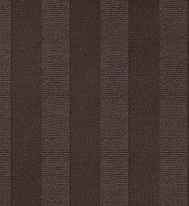 Tecido Jacquard Algodão Faixas Chocolate Para Cortinas Com 2,80 de Largura - EUR53