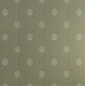 Tecido Jacquard Linho Iri Bolinhas Caqui Para Cortinas Com 2,80 de Largura - EUR70