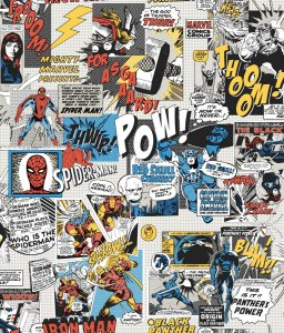 Papel de Parede Gibi Marvel Colors - DI0944A