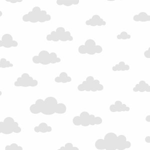 Papel de Parede Nuvens Cinza - DI0974A