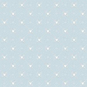 Papel de Parede Mickey Azul - DI0978A