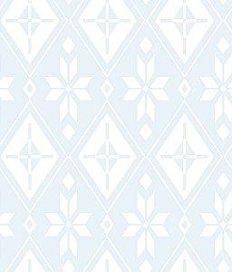 Papel de Parede Frozen Azul Gélido - DI1009A