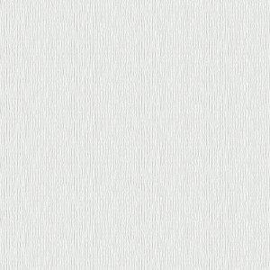 Papel De Parede Winster - Ranhuras Prateada e Off White  IH-20101