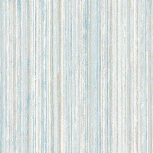 Papel De Parede Winster - Listras Rusticas Azul Bege e Cinza - IH-202012