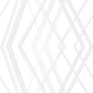 Papel de Parede Geométrico Branco - CW8411