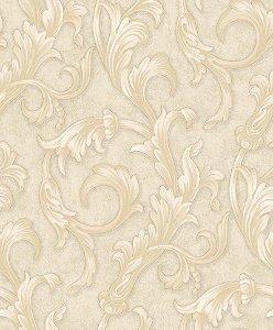 Papel de parede Florence - Arabescos Bege - FR87291