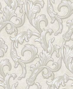 Papel de parede Florence - Arabescos Off White - FR87292