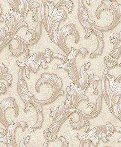Papel de parede Florence - Arabescos Marrom - FR87293
